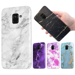 Samsung Galaxy A8 (2018) - Marmor Skal / Mobilskal - 60 Motiv 11