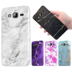 Samsung Galaxy J3 (2016) - Marmor Skal / Mobilskal - 60 Motiv 57