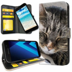 Samsung Galaxy J3 (2016) - Mobilfodral Sovande Katt