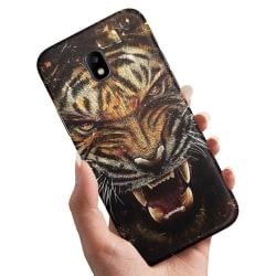 Samsung Galaxy J3 (2017) - Skal / Mobilskal Rytande Tiger