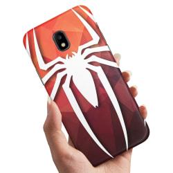 Samsung Galaxy J3 (2017) - Skal / Mobilskal Spider-Man Symbol