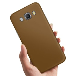 Samsung Galaxy J5 (2016) - Skal / Mobilskal Brun Brun