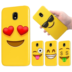 Samsung Galaxy J5 (2017) - Skal / Mobilskal - Emoji - 15 Motiv 3
