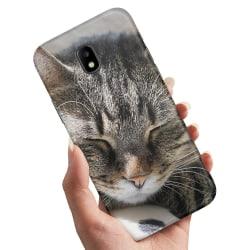 Samsung Galaxy J5 (2017) - Skal / Mobilskal Sovande Katt