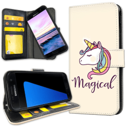 Samsung Galaxy S5 - Mobilfodral Magisk Ponny / Unicorn
