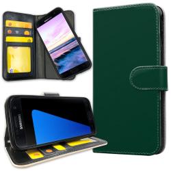 Samsung Galaxy S5 - Mobilfodral Mörkgrön grå