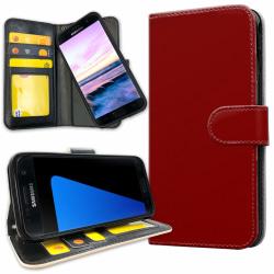 Samsung Galaxy S5 - Mobilfodral Mörkröd red