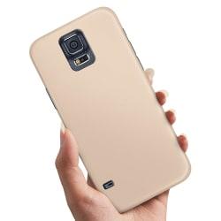 Samsung Galaxy S5 - Skal / Mobilskal Beige