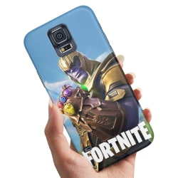 Samsung Galaxy S5 - Skal / Mobilskal Fortnite