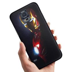 Samsung Galaxy S5 - Skal / Mobilskal Glowing Iron Man