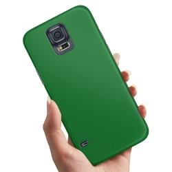 Samsung Galaxy S5 - Skal / Mobilskal Grön