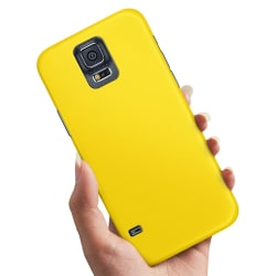 Samsung Galaxy S5 - Skal / Mobilskal Gul