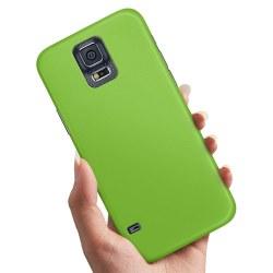 Samsung Galaxy S5 - Skal / Mobilskal Limegrön