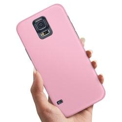 Samsung Galaxy S5 - Skal / Mobilskal Ljusrosa