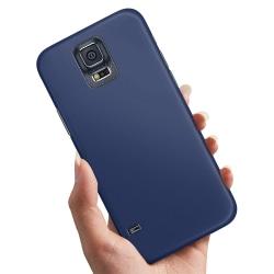 Samsung Galaxy S5 - Skal / Mobilskal Mörkblå