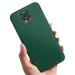 Samsung Galaxy S5 - Skal / Mobilskal Mörkgrön