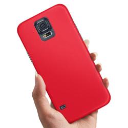 Samsung Galaxy S5 - Skal / Mobilskal Röd