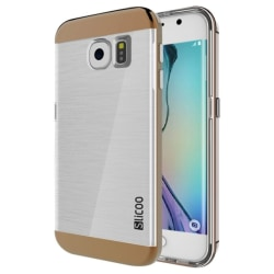 Samsung Galaxy S6 Edge - Slicoo TPU Skal / Mobilskal Ljusbrun Brun