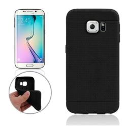 Samsung Galaxy S6 Edge - TPU Bikaka Skal / Mobilskal Svart Svart