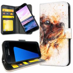 Samsung Galaxy S7 Edge - Mobilfodral Hundvalp