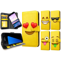 Samsung Galaxy S7 Edge - Mobilfodral / Mobilskal Emoji 2