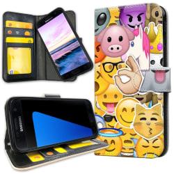 Samsung Galaxy S7 Edge - Mobilfodral Smiley