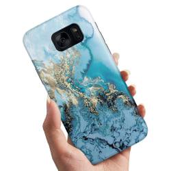 Samsung Galaxy S7 Edge - Skal / Mobilskal Konstmönster