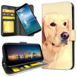 Samsung Galaxy S8 - Mobilfodral Golden Retriever