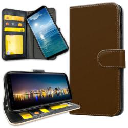 Samsung Galaxy S8 - Mobilfodral Brun Brun