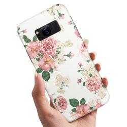 Samsung Galaxy S8 Plus - Skal / Mobilskal Retro Blommor