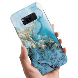 Samsung Galaxy S8 - Skal / Mobilskal Konstmönster