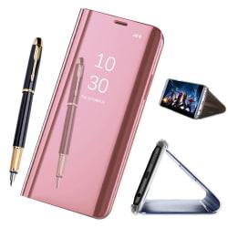Samsung Galaxy S9 - Mobilfodral / Fodral Spegel - Ljusrosa Ljusrosa