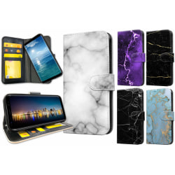 Samsung Galaxy S9 Plus - Marmor Mobilfodral / Mobilskal 17