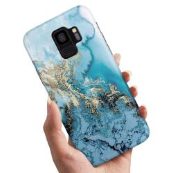 Samsung Galaxy S9 - Skal / Mobilskal Konstmönster