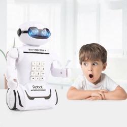 Sparbössa / Spargris för Sedlar - Interaktiv Robot