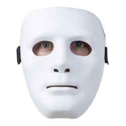 Statymask / Mask - Vit - Halloween & Maskerad
