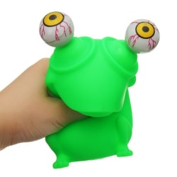 Stressboll / Klämboll / Stress Leksak - Pop-Eye - Groda