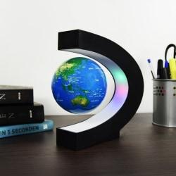 Svävande Jordglob - Glob med LED Belysning