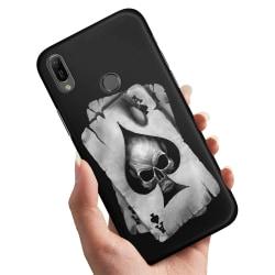 Xiaomi Mi A2 Lite - Skal / Mobilskal Döskalle Kortlek