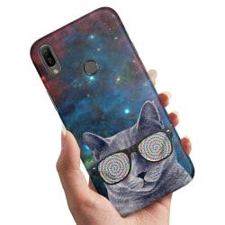 Xiaomi Mi A2 - Skal / Mobilskal Cat Space