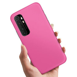 Xiaomi Mi Note 10 Lite - Skal / Mobilskal Magenta