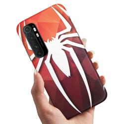 Xiaomi Mi Note 10 Lite - Skal / Mobilskal Spider-Man Symbol