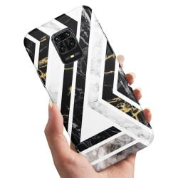 Xiaomi Redmi Note 9 Pro - Skal / Mobilskal Krokigt Mönster