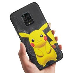 Xiaomi Redmi Note 9 Pro - Skal / Mobilskal Pokemon