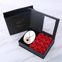 Rosgåva - Röd med Halsband