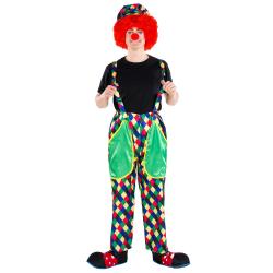 Clowndräkt August Green S