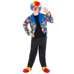 Clowndräkt Oleg Black S