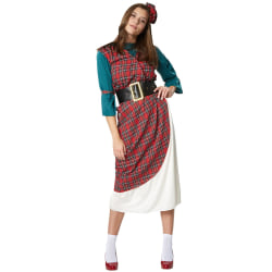 Elegant Highlander-kvinna Red M