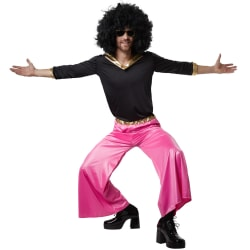 Funky Disco Dancer Pink XL