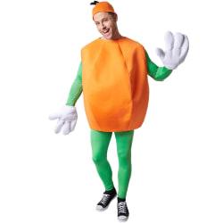 Maskeraddräkt Apelsin Orange XL